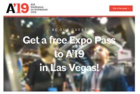 AIA '19 Free Expo pass